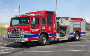 Engine 222 2008 Pierce Velocity 800 gallon water tank / 2000 gpm pump