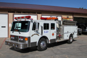 Reserve Engine 220 1989 Beck 1000 gallon water tank / 1500 gpm pump